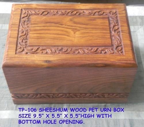 Pet Cremation Urns Wood