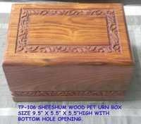 Pet Cremation Urns Wood