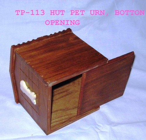 Decorative Wood Pet Urn