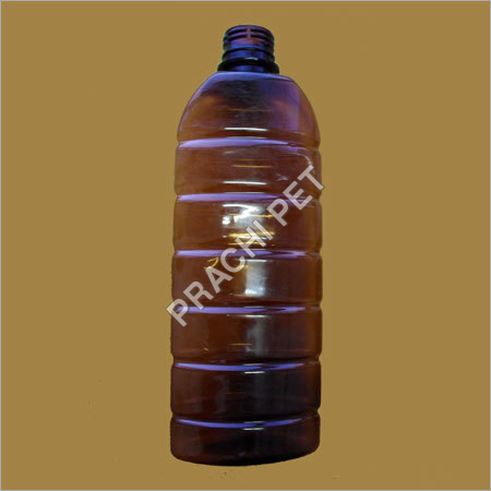 Boston Round Plastic Bottles