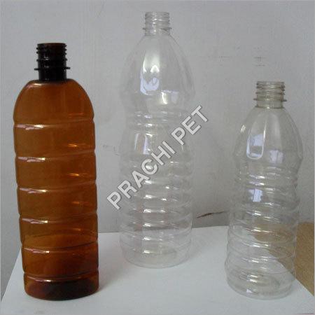 Amber Plastic Bottles