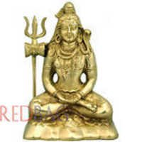 Meditating Lord Shiva - Brass Statue for Pujaghar