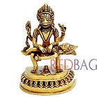 LORD NARSINGH Incarnation of Lord Vishnu - Brass Statue