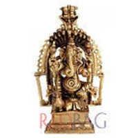 Ganesha Vigneshwara - Brass Statue