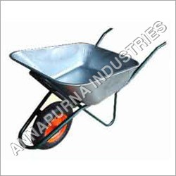 Single Wheel Barrow With Pneumatic Wheel