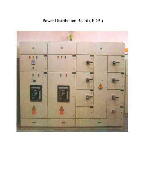 DC Power Distribution Board