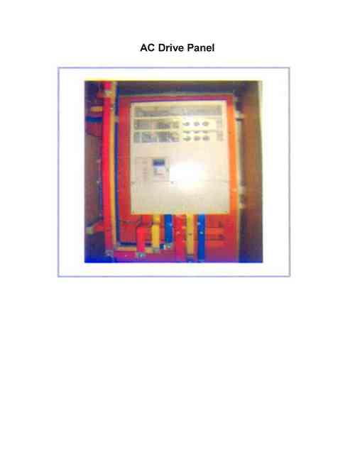 Electronic Control Panels