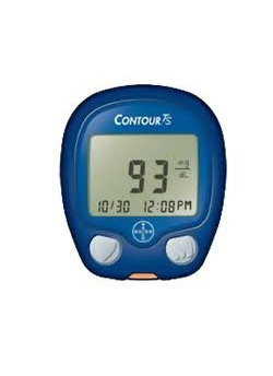 Bayer Contour TS Blood Glucose Monitor