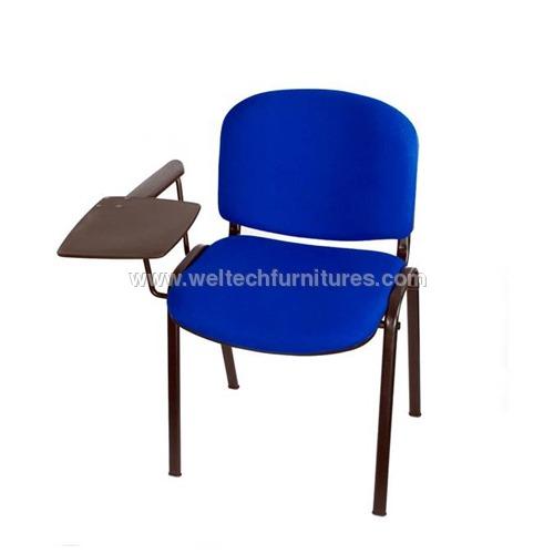 Steel Writing Pad Chairs