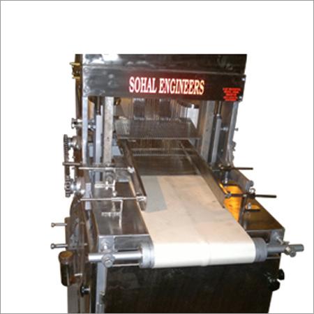 Stainless Steel Bread Round Roll Slicing Machine
