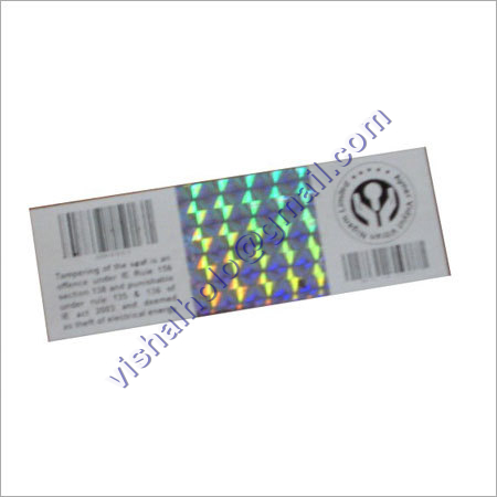Destructible Vinyl With Holograms