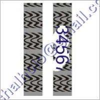 Zebra Pattern Labels