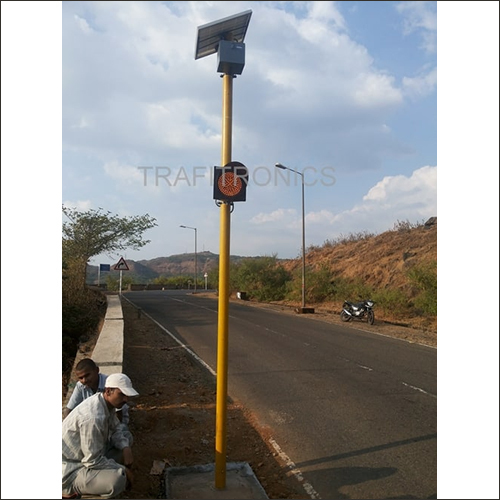 Solar Traffic Signal Blinker