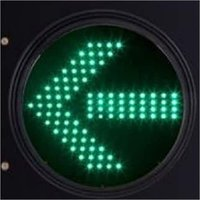 Green Arrow Traffic Signal Light