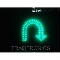 LED U Turn Arrow Signal Light