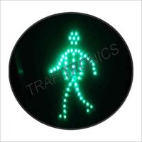 Pedestrian Green Traffic Signal