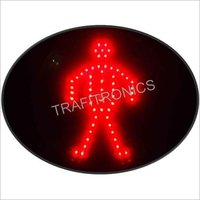 Pedestrian Red Traffic Signal (MAKE TRAFITRONICS) 7030360044