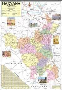 Haryana Political Map
