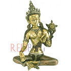 Goddess Tara - Brass Sculpture