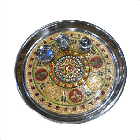 Handicrafts Thali