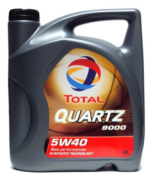 Total Quartz 9000 Fully Synthetic 5w40 Engine Oil