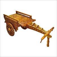 Gold Handicraft Cart