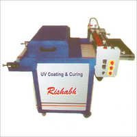 UV Coating Machine with IR Lamp
