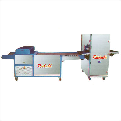 Roller Coater with UV Curing System