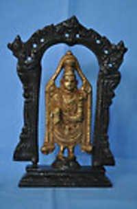 Tirupati Balaji Govinda Brass Statue Metal figure rare unique gift free shipping