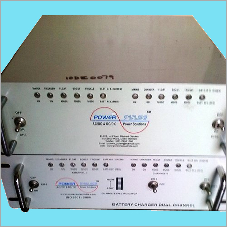 Bar Graph Dual Channel Charger