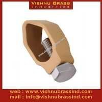 Brass G Type Earthing Clamp