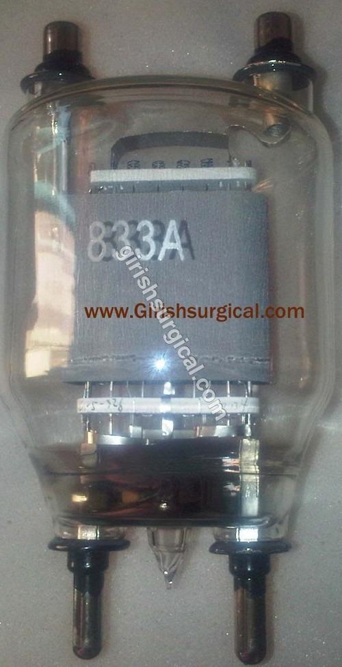 Valve 833 For Short Wave Diathermy 500 Watt.
