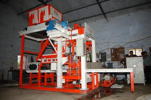 Vibro Compact Fly Ash Brick Plant