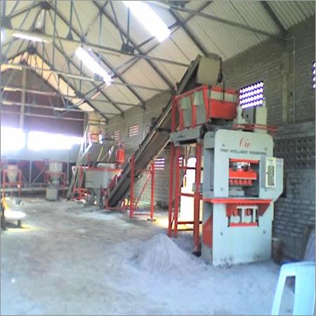 Hydraulic Fly Ash Brick Machine