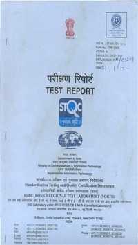 Ertl Certificate