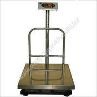 Platform Scale With Steel Pan