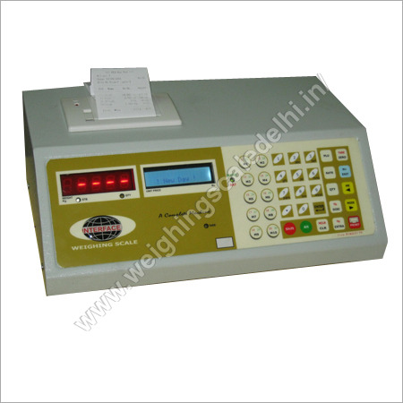 Weight Indicator with Thermal Printer