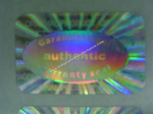 Garantiesiegel Authenti Warranty HOLOGRAM LABEL