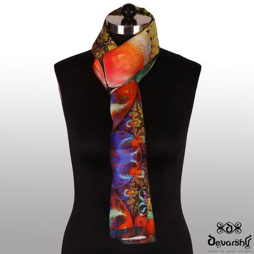 Digital Printed Designer Scarves