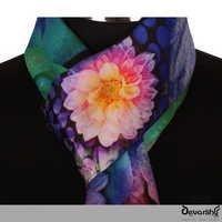 Premium Printed Silk Scarves