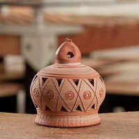 Handcrafted Terracota Decorative Bell - 05