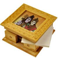 Little India Gemstone Painting Slip Pad Box Handicraft Gift 120