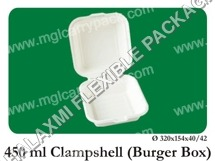 Clamshell Burger Box