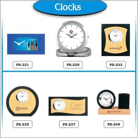 Promotional Table Clocks