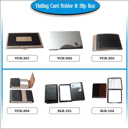 Visiting Card Holder & Slip Box