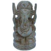 Little India Fine Carved Lord Ganesha Design Wooden Gift -167