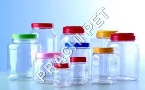Printed Pet Plastic Jars