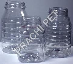 Customized Pet Plastic Jars