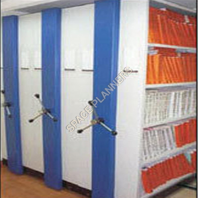 Mechanical Mobile Storage System compactor