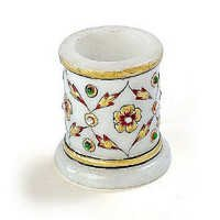 Marvel in Marble - Toothpick Holder - 028